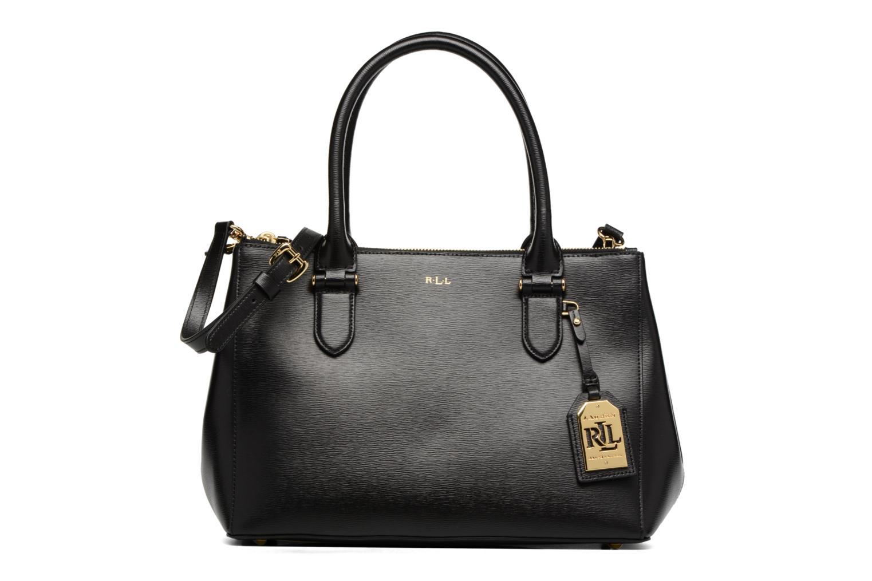 Handtassen Lauren by Ralph Lauren Newbury Double Zipper Shopper Zwart detail