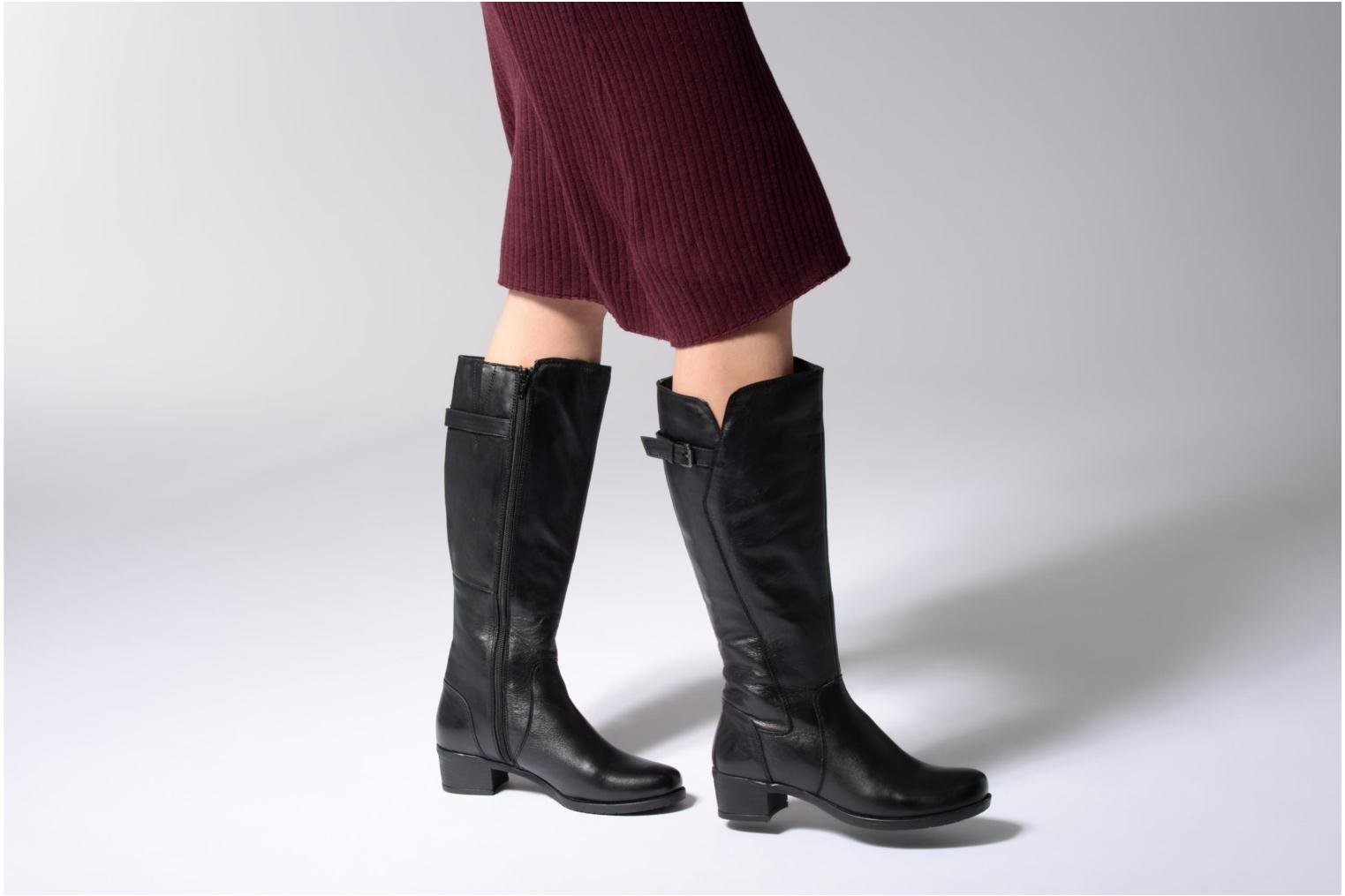 Boots & wellies Arima pour Elle Fetiche Black view from underneath / model view