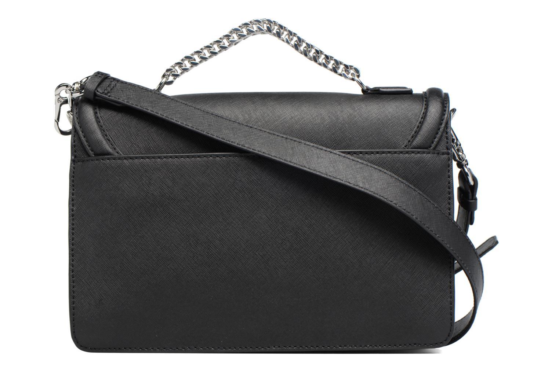Sacs à main Karl Lagerfeld Klassik Diamond Shoulder bag Noir vue face