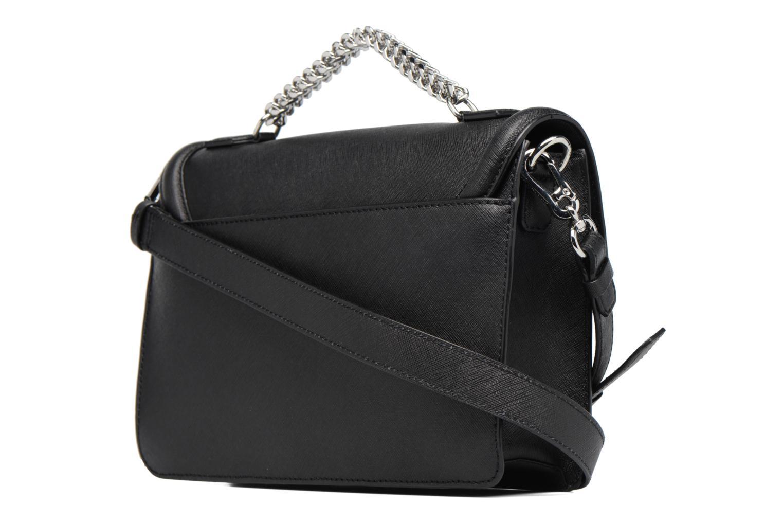Sacs à main Karl Lagerfeld Klassik Diamond Shoulder bag Noir vue droite