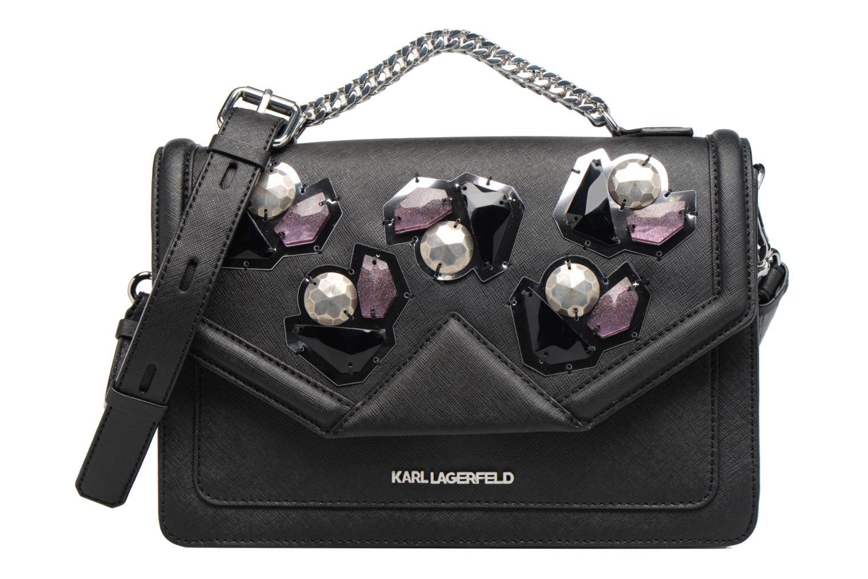 Sacs à main Karl Lagerfeld Klassik Diamond Shoulder bag Noir vue détail/paire