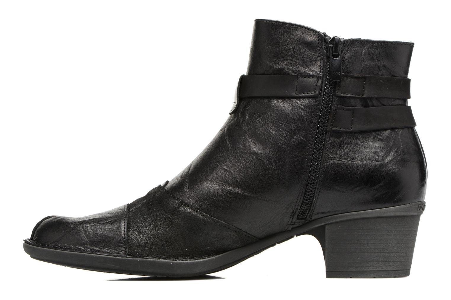 Bottines et boots Dorking Dalma 7371 Noir vue face