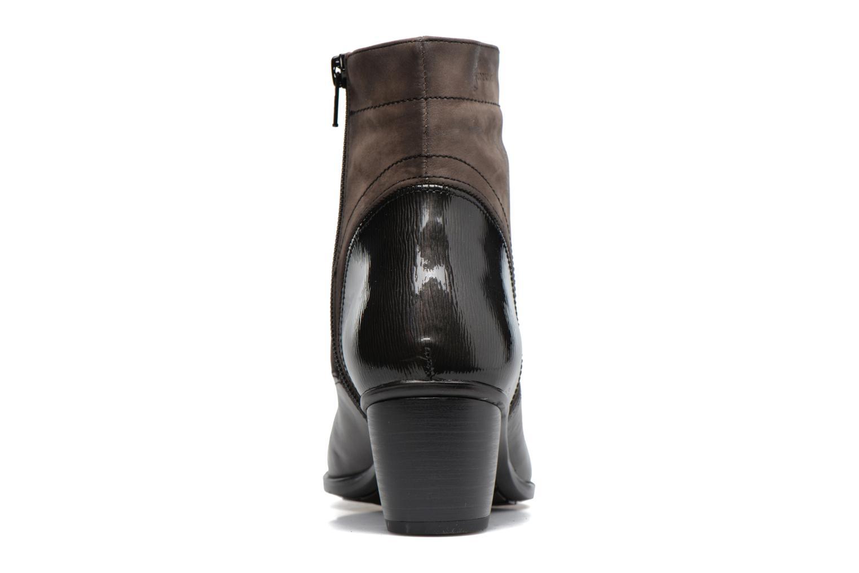 Bottines et boots Dorking Brisda 7255 Gris vue droite