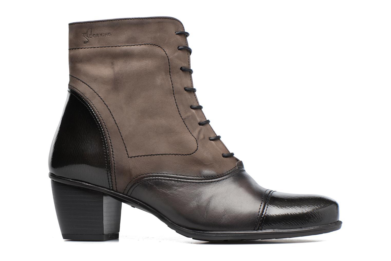 Bottines et boots Dorking Brisda 7255 Gris vue derrière