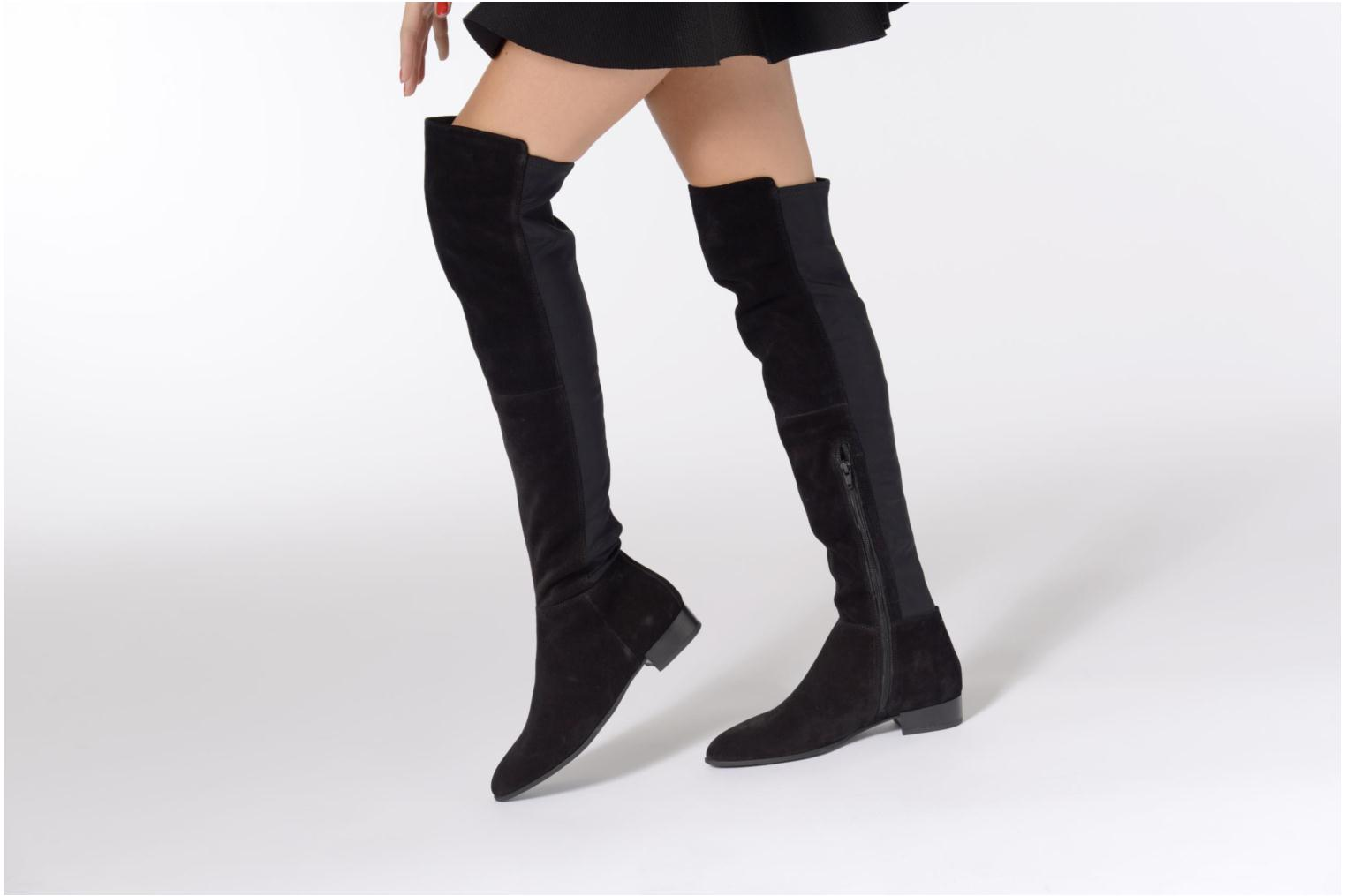 Boots & wellies Vagabond Gigi 4401-040 Black view from underneath / model view