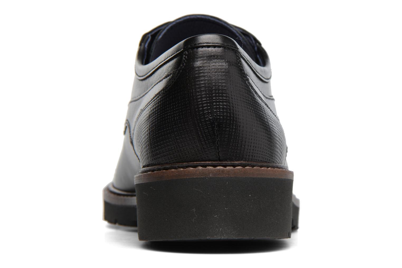 Chaussures à lacets Fluchos Cavalier 9527 Noir vue droite