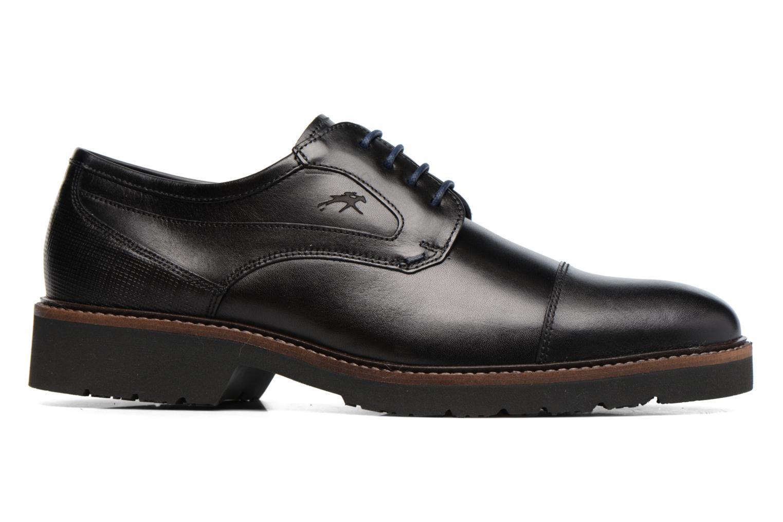 Chaussures à lacets Fluchos Cavalier 9527 Noir vue derrière