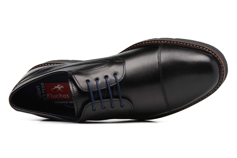 Chaussures à lacets Fluchos Cavalier 9527 Noir vue gauche