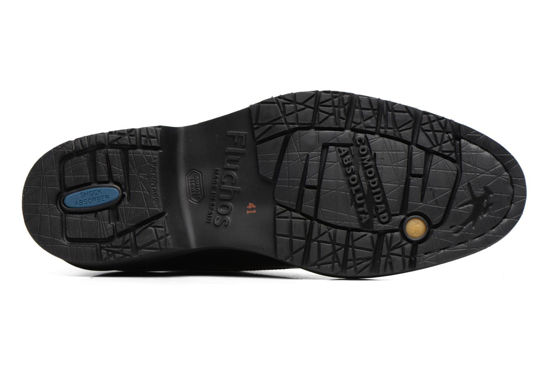 Chaussures à lacets Fluchos Cavalier 9527 Noir vue haut
