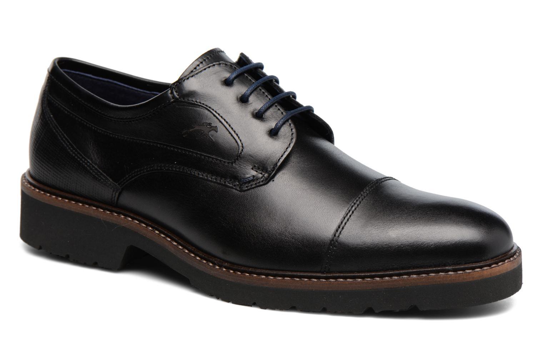 Chaussures à lacets Fluchos Cavalier 9527 Noir vue détail/paire