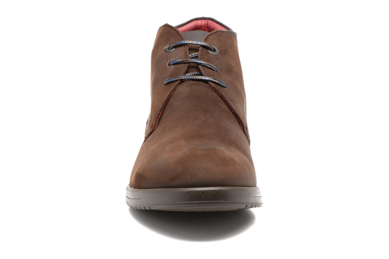 Chaussures à lacets Fluchos Hornet 9661 Marron vue portées chaussures