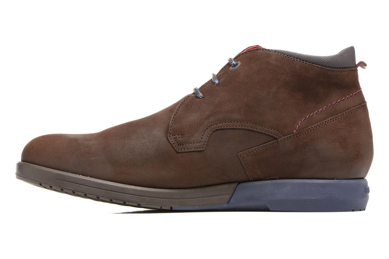 Chaussures à lacets Fluchos Hornet 9661 Marron vue face