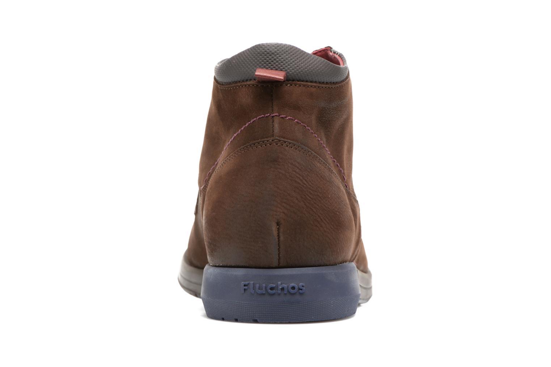 Chaussures à lacets Fluchos Hornet 9661 Marron vue droite