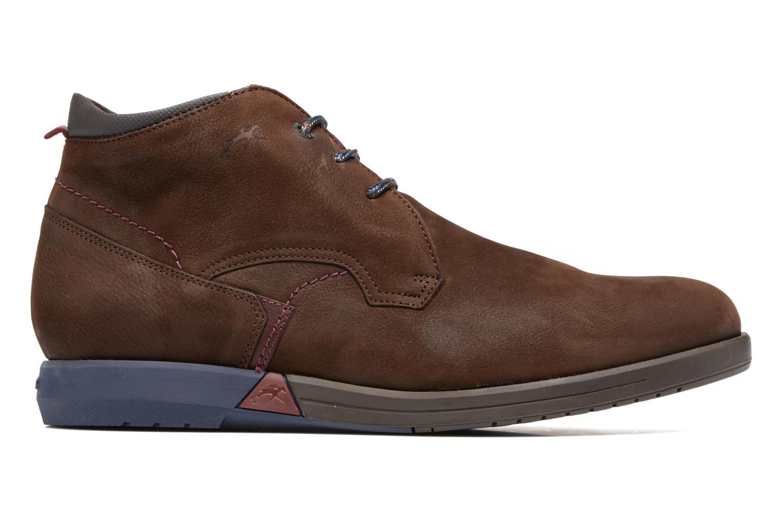 Chaussures à lacets Fluchos Hornet 9661 Marron vue derrière