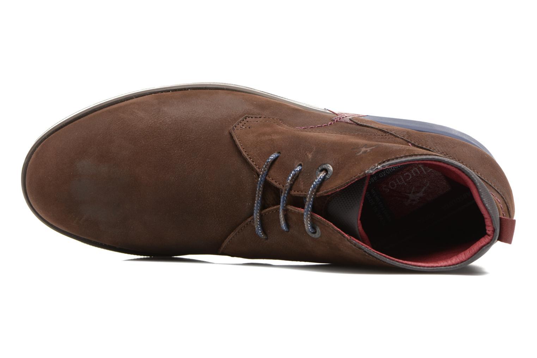 Chaussures à lacets Fluchos Hornet 9661 Marron vue gauche