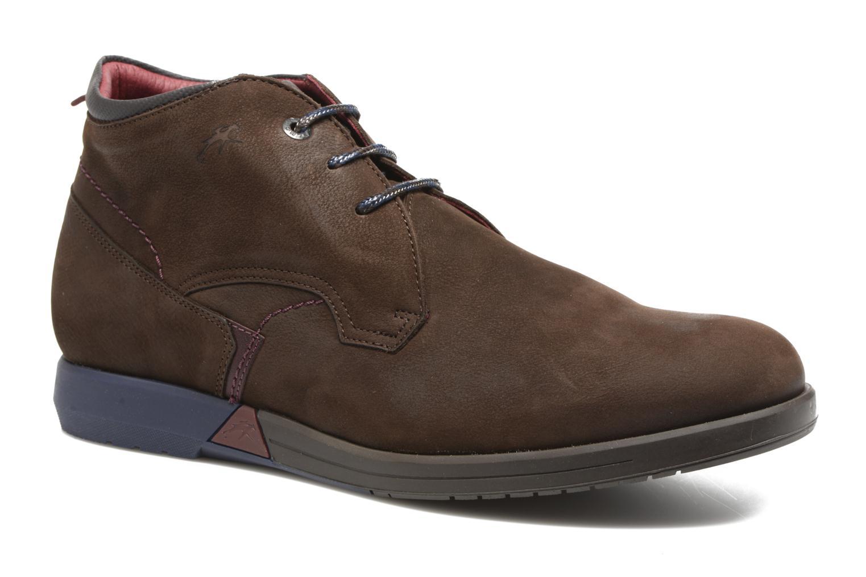 Chaussures à lacets Fluchos Hornet 9661 Marron vue détail/paire