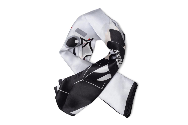Sonstiges Karl Lagerfeld Karl Selfie Scarf Soie weiß detaillierte ansicht/modell