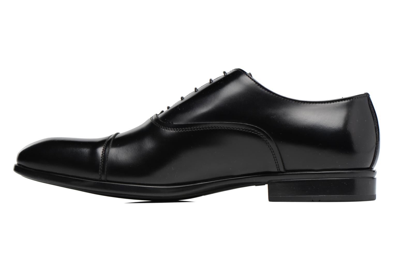 Chaussures à lacets Doucal's Oscar Noir vue face