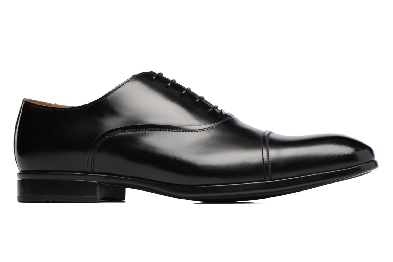 Chaussures à lacets Doucal's Oscar Noir vue derrière