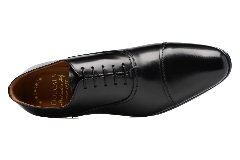 Chaussures à lacets Doucal's Oscar Noir vue gauche