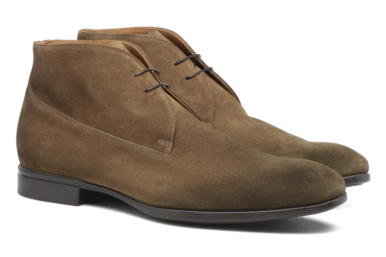 Chaussures à lacets Doucal's Orlando Marron vue 3/4