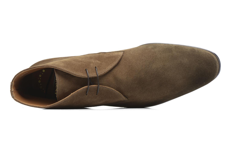 Chaussures à lacets Doucal's Orlando Marron vue gauche