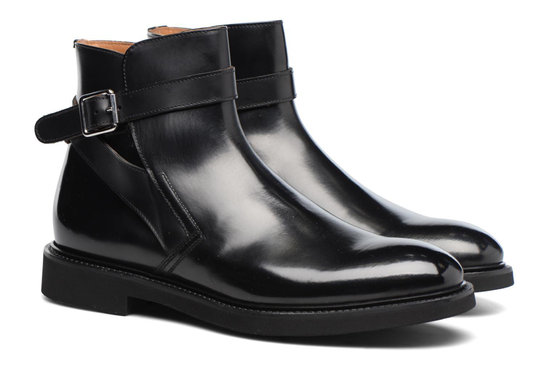 Bottines et boots Doucal's Brice Noir vue 3/4