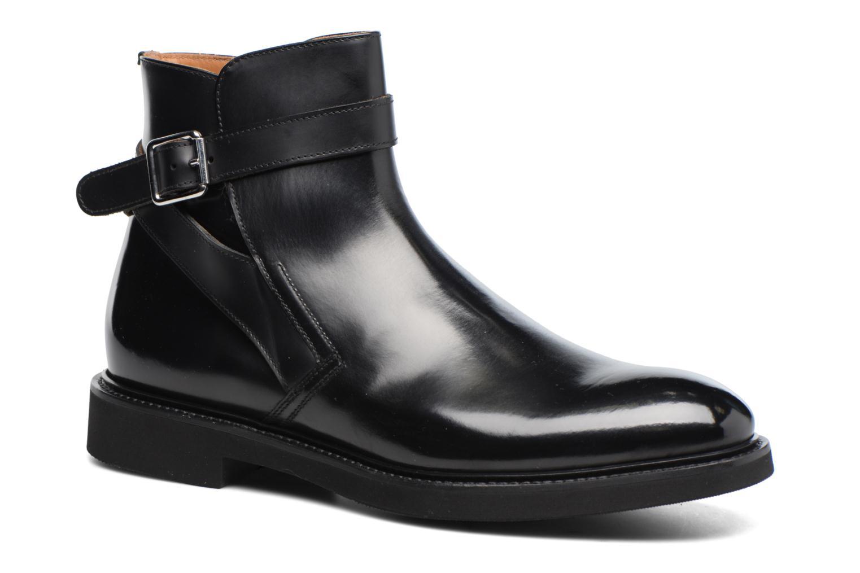 Bottines et boots Doucal's Brice Noir vue détail/paire