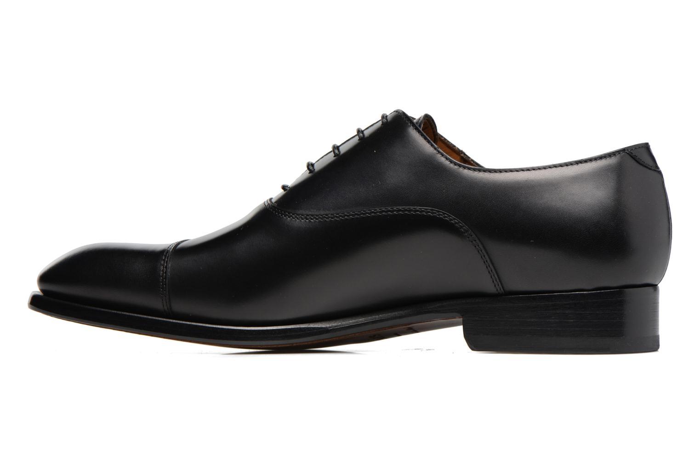 Chaussures à lacets Doucal's Pierre Noir vue face