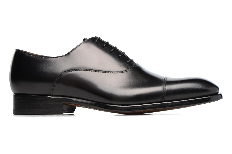 Chaussures à lacets Doucal's Pierre Noir vue derrière