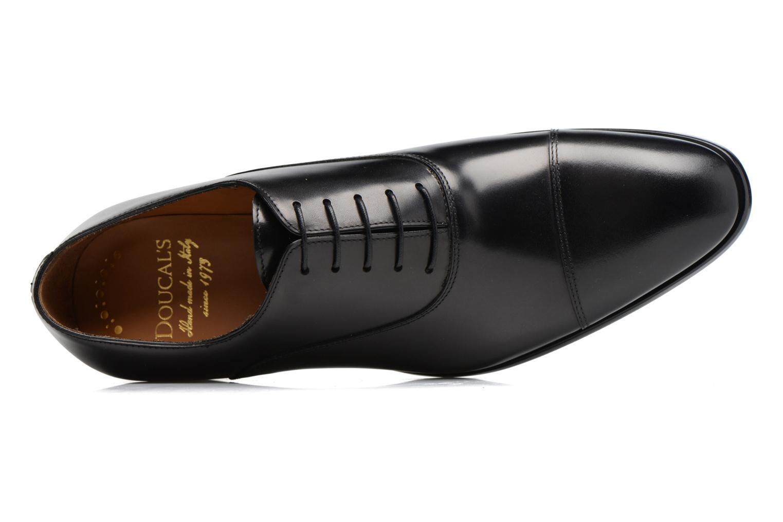 Chaussures à lacets Doucal's Pierre Noir vue gauche