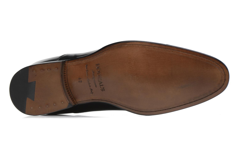 Chaussures à lacets Doucal's Pierre Noir vue haut