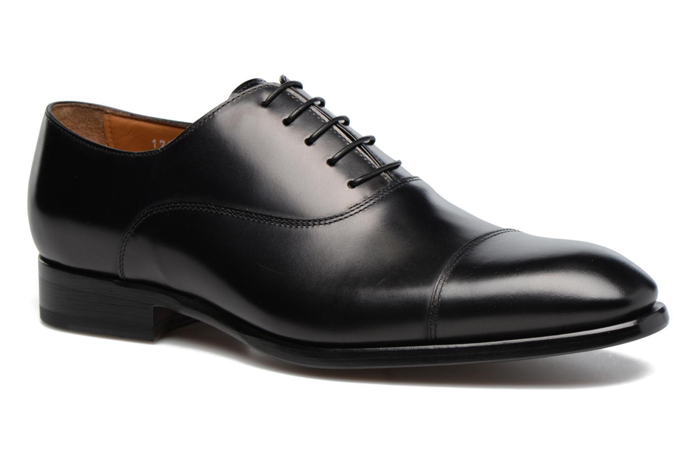 Chaussures à lacets Doucal's Pierre Noir vue détail/paire