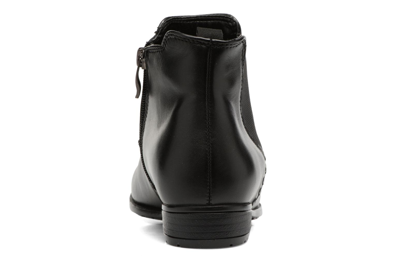 Bottines et boots Ara Yale-St Noir vue droite