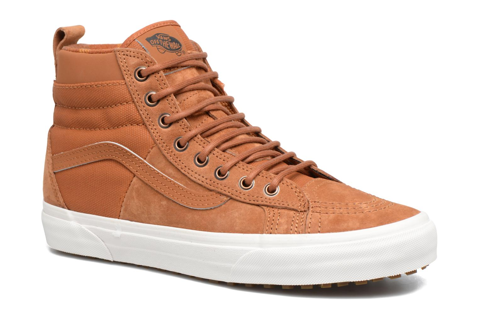 Baskets Vans SK8-Hi MTE DX Marron vue détail/paire