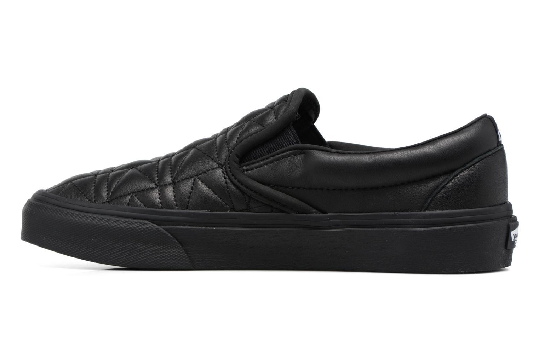 Baskets Vans Classic Slip-On W x Karl Lagerfeld Noir vue face