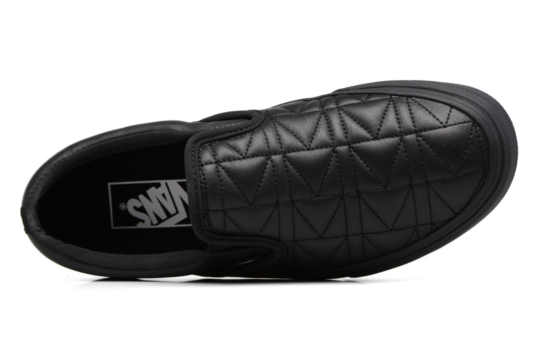 Baskets Vans Classic Slip-On W x Karl Lagerfeld Noir vue gauche