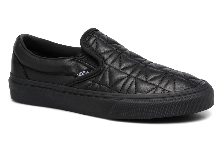 Baskets Vans Classic Slip-On W x Karl Lagerfeld Noir vue détail/paire