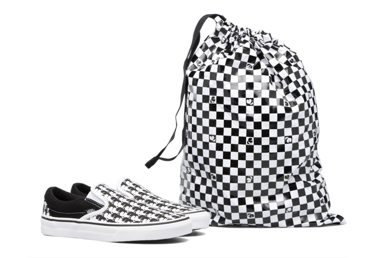 Baskets Vans Classic Slip-On W x Karl Lagerfeld Noir vue 3/4