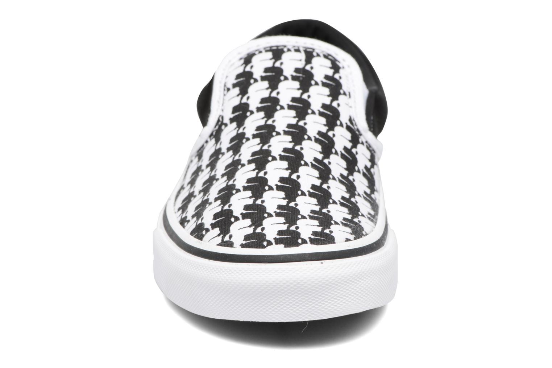 Baskets Vans Classic Slip-On W x Karl Lagerfeld Noir vue portées chaussures