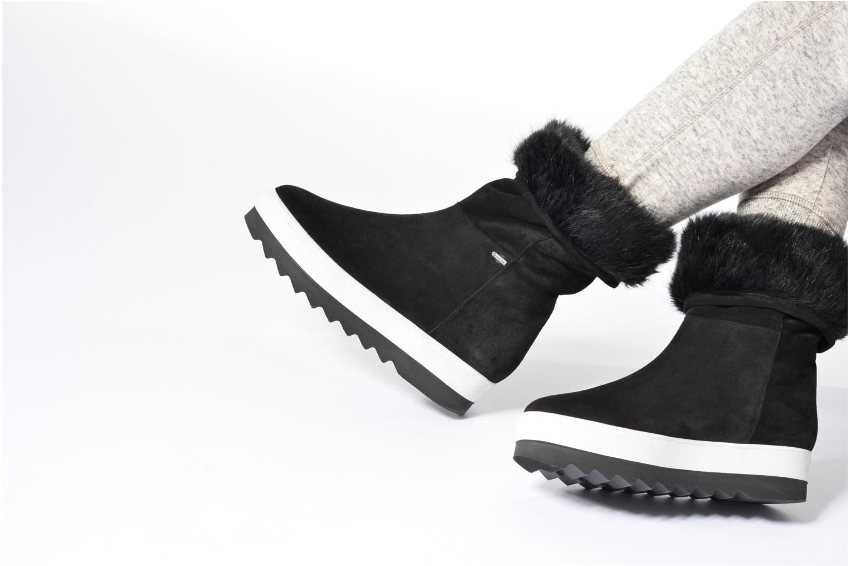 Chaussures de sport HÖGL Lily Noir vue bas / vue portée sac