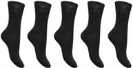 Chaussettes Solid Unies Lot de 5