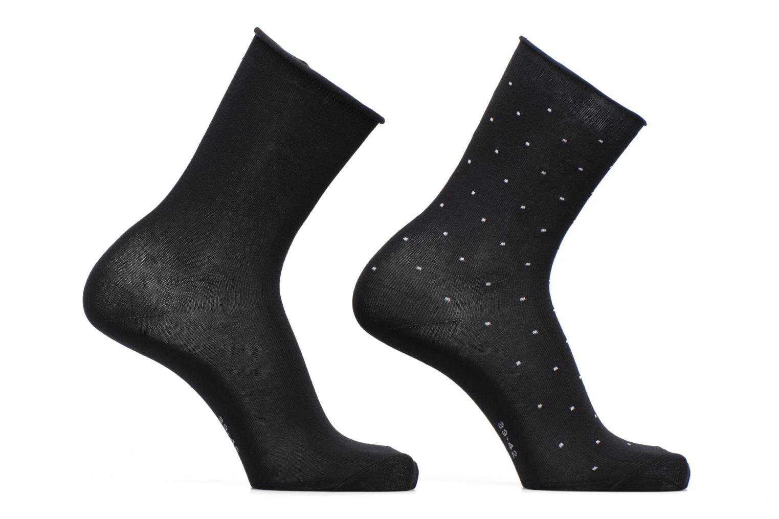 Chaussettes Little Dots Lot de 2 3000 Black