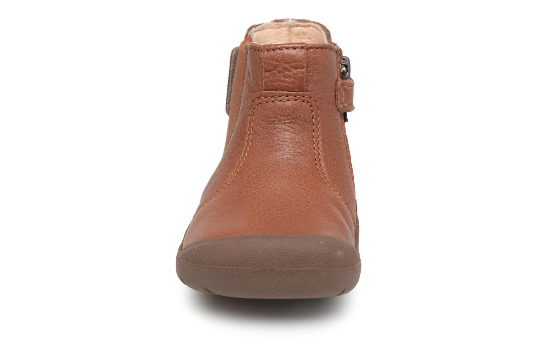 Bottines et boots Start Rite First Chelsea Marron vue portées chaussures