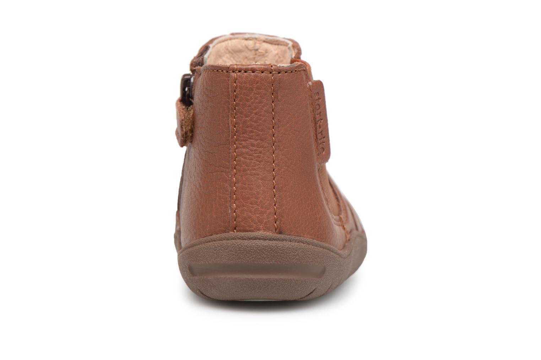 Bottines et boots Start Rite First Chelsea Marron vue droite