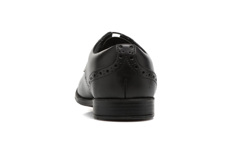 Chaussures à lacets Start Rite Brogue PRI Noir vue droite