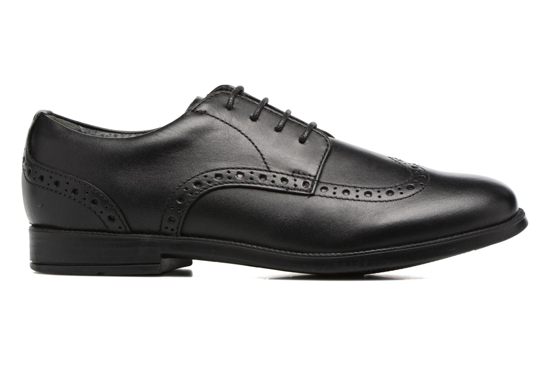 Chaussures à lacets Start Rite Brogue PRI Noir vue derrière
