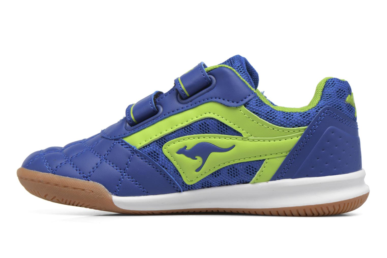 Baskets Kangaroos Power Comb V Bleu vue face