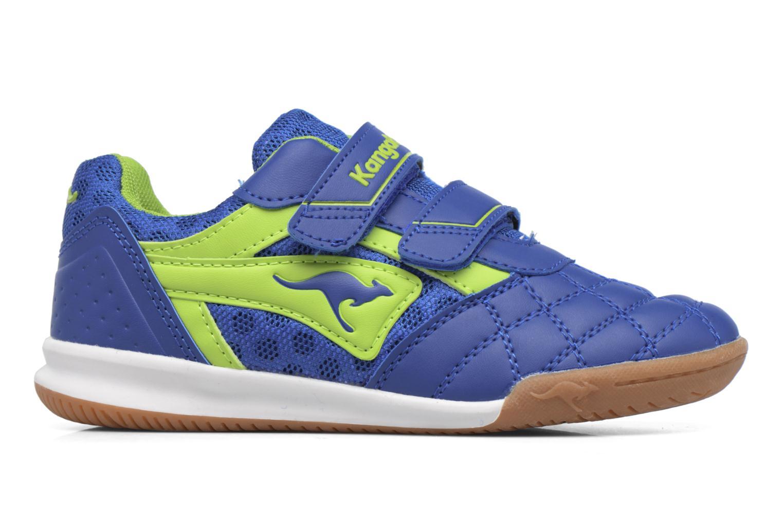Baskets Kangaroos Power Comb V Bleu vue derrière