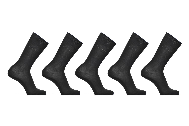 Chaussettes et collants Esprit Chaussettes Unies Lot de 5 Noir vue détail/paire